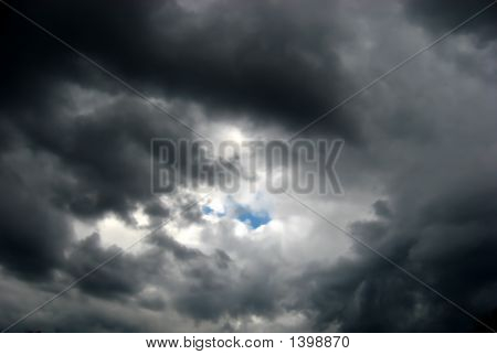A Little Blue Within Storm Clouds2