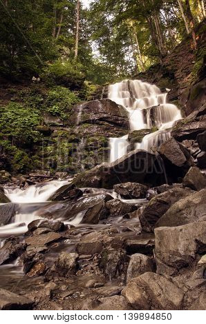 Shypit Waterfall, Pylypets River (ukraine 2016)