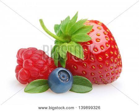 Summer berry fruits.