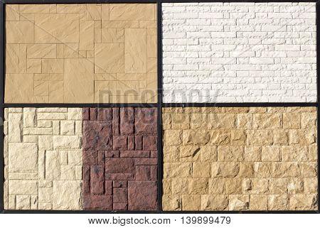 Yellow Ceramic Relief Paving Slabs On Vіstvaochnom