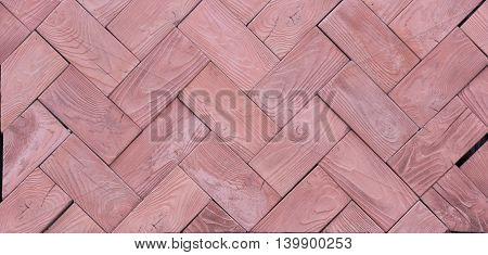 Concrete Paving Slabs Of Wood Texture