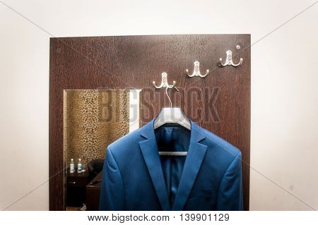 Jacket On Hanger