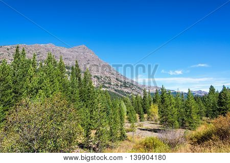 Barronette Peak In Yellowstone National Park