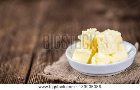 Portion Of Butter (selective Focus)