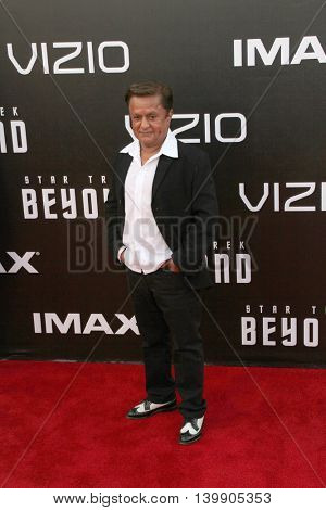 Deep Roy attends at the Star TreK Beyond  premiere during Comic Con on July 20, 2016 at the Embarcadero Marina Park South in San Diego, CA.