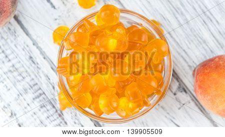 Heap Of Gummy Peaches