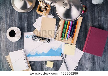 Business Report And Stationery Items