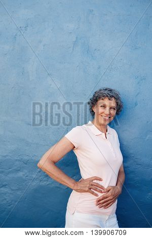 Attractive Mature Woman Posing To Camera