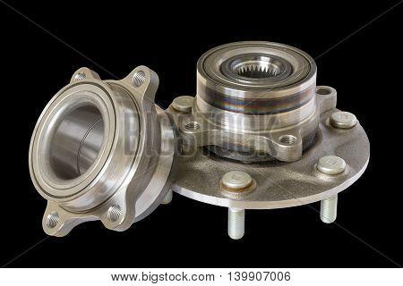 wheel bearing kit for car on black