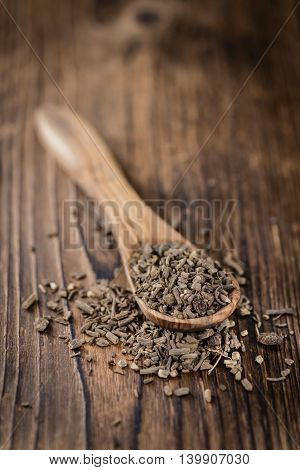 Heap Of Valerian Roots (close-up Shot)