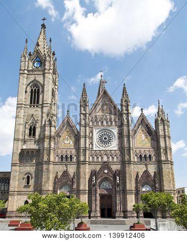 The Expiatorio church of Guadalajara Jalisco Mexico