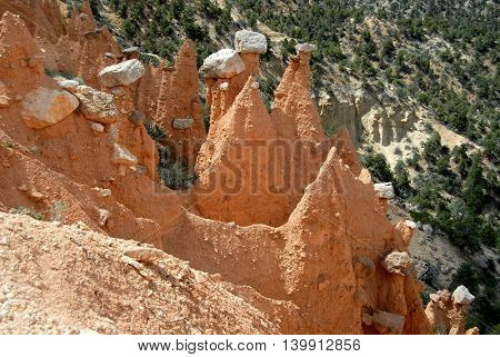 shop, park, southern, formation, hat, national, frost, erosion, geological, point, rim, utah, weathering, delicately, claron, bryce, hoodoos, vistas, balanced, structures