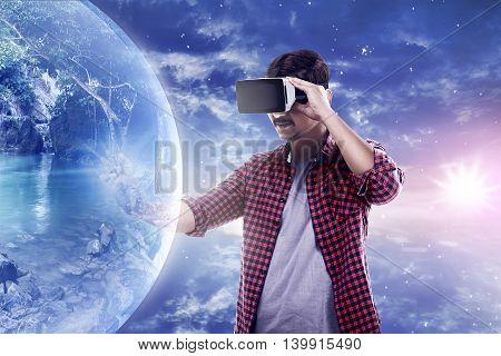 Virtual Reality Conceptual Images