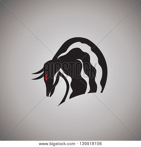 bull logo ideas design vector illustration on background