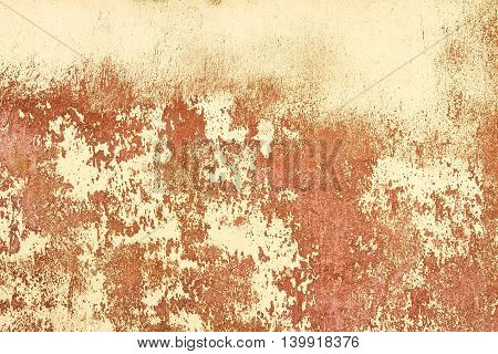 Grungy Colorful Natural Plaster Or Cement Old Wall Texture Background