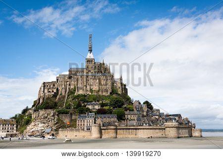 Mont Saint-michel. Normandy. France