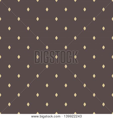 Seamless geometric modern pattern. Fine ornament with golden elements