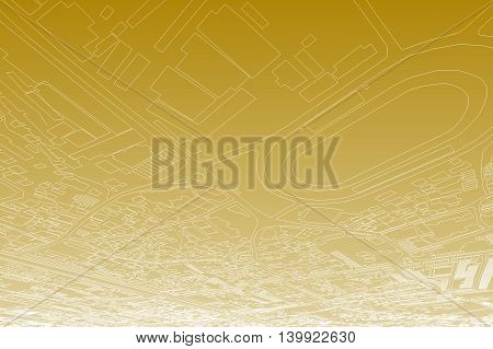 city map background, abstract illustration, transportation lines