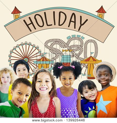 Holiday Festival Journey Relaxation Travel Vacation Concept