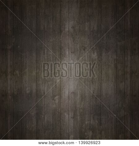 Dark Old Dirty Wooden Wall For Background