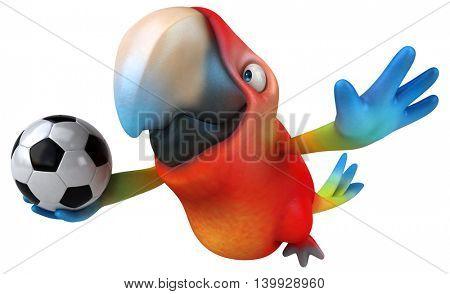 Fun parrot