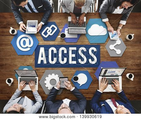 Access Available Usable Accessability Concept
