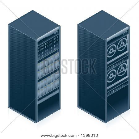 Computer Hardware Icons Set - Design Elements 55L