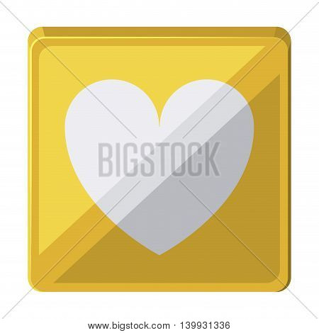 heart love  isolated icon design, vector illustration  graphic
