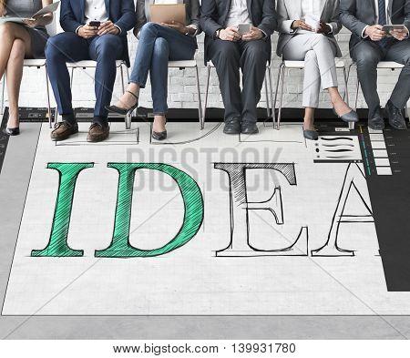 Idea Text Editing Software Concept