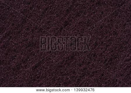 Abrasive , dark and sponge texture close up