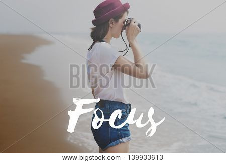 Focus Concentrate Goals Target Vision Determine Concept
