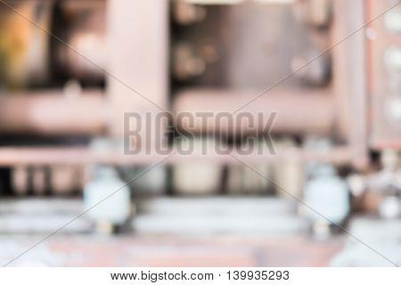 Blurred Background : Plastic Machine Blur Background,industry Background