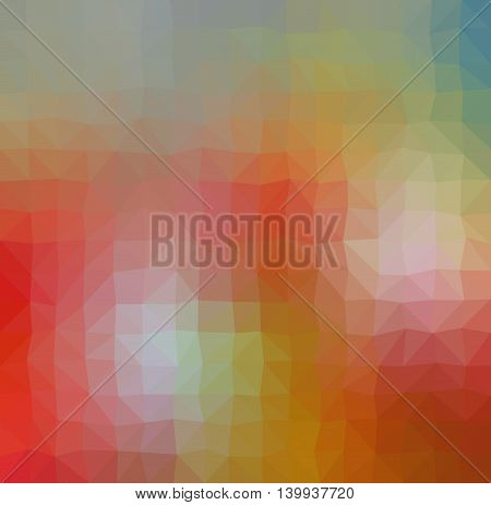 Colorful Orange Geometric Tetragon Low Poly Gradient Graphic Background Vector Eps10