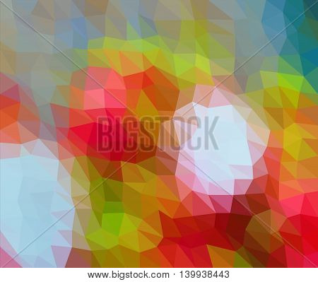 Colorful Orange Multicolor Geometric Low Poly Gradient Graphic Background Vector Eps10