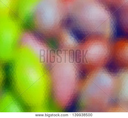 Colorful Multicolor Blur Geometric Low Poly Gradient Graphic Background Vector Eps10