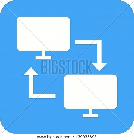 Data, cloud, server icon vector image.Can also be used for networking. Suitable for mobile apps, web apps and print media.