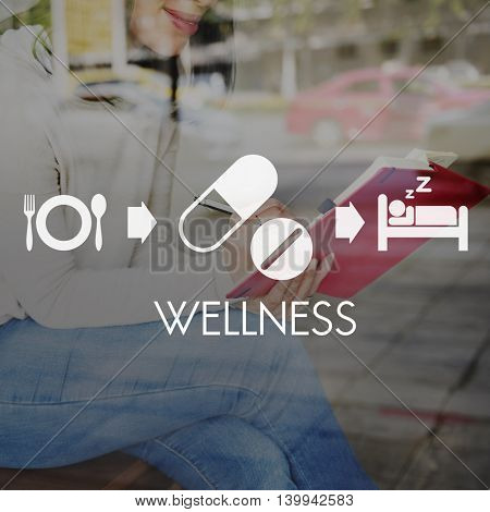 Wellbeing Medical Health Proper Care Concept