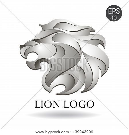 Vector Lion head logo for your design
