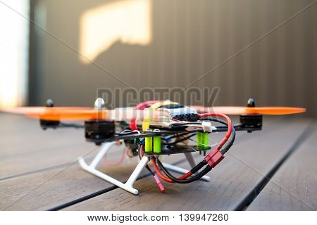 Drone taking off