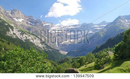 Cirque de Gavarnie, Pyrenees mountains, France