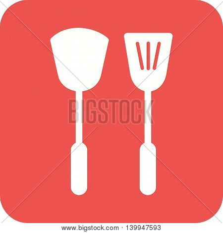 Kitchen, utensil, knife icon vector image. Can also be used for home. Suitable for use on web apps, mobile apps and print media.