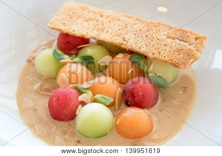 Delicious Fruit Ceasar Sald