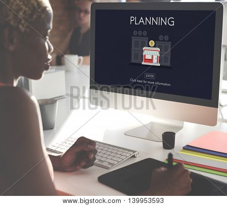 Plan Planning Business Opportunity Work Concept
