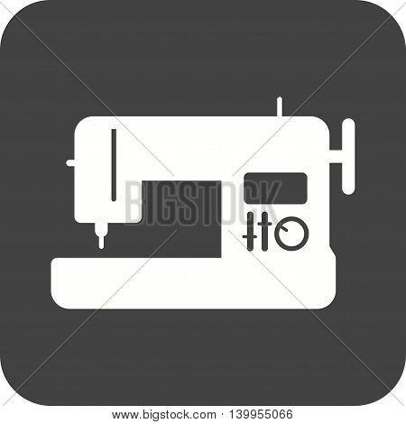 Sewing, machine, needle icon vector image.Can also be used for home. Suitable for mobile apps, web apps and print media.