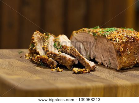 Crusty Grilled Meat