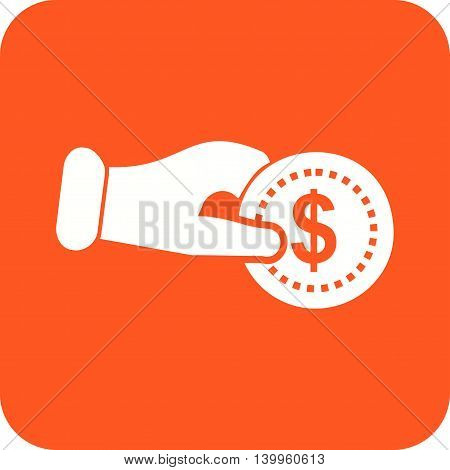 Payment, credit, shop icon vector image. Can also be used for shopping. Suitable for use on web apps, mobile apps and print media.