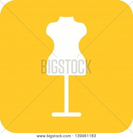 Mannequin, fashion, boutique icon vector image.Can also be used for shopping. Suitable for web apps, mobile apps and print media.