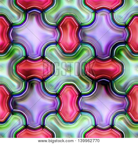 Seamless texture of abstract shiny colorful background