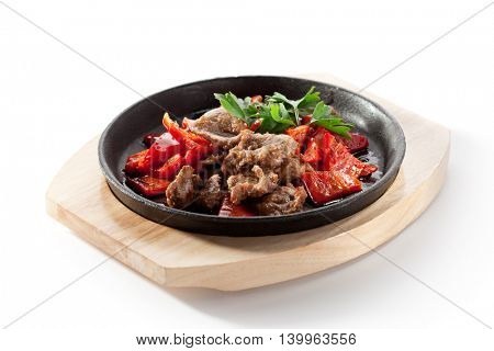 Asian Style Beef Stir Fried