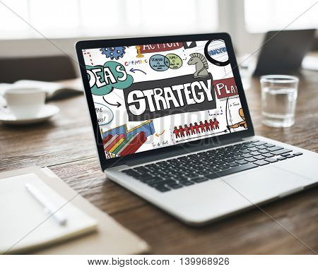 Strategy Solution Development Mission Motivation Concept